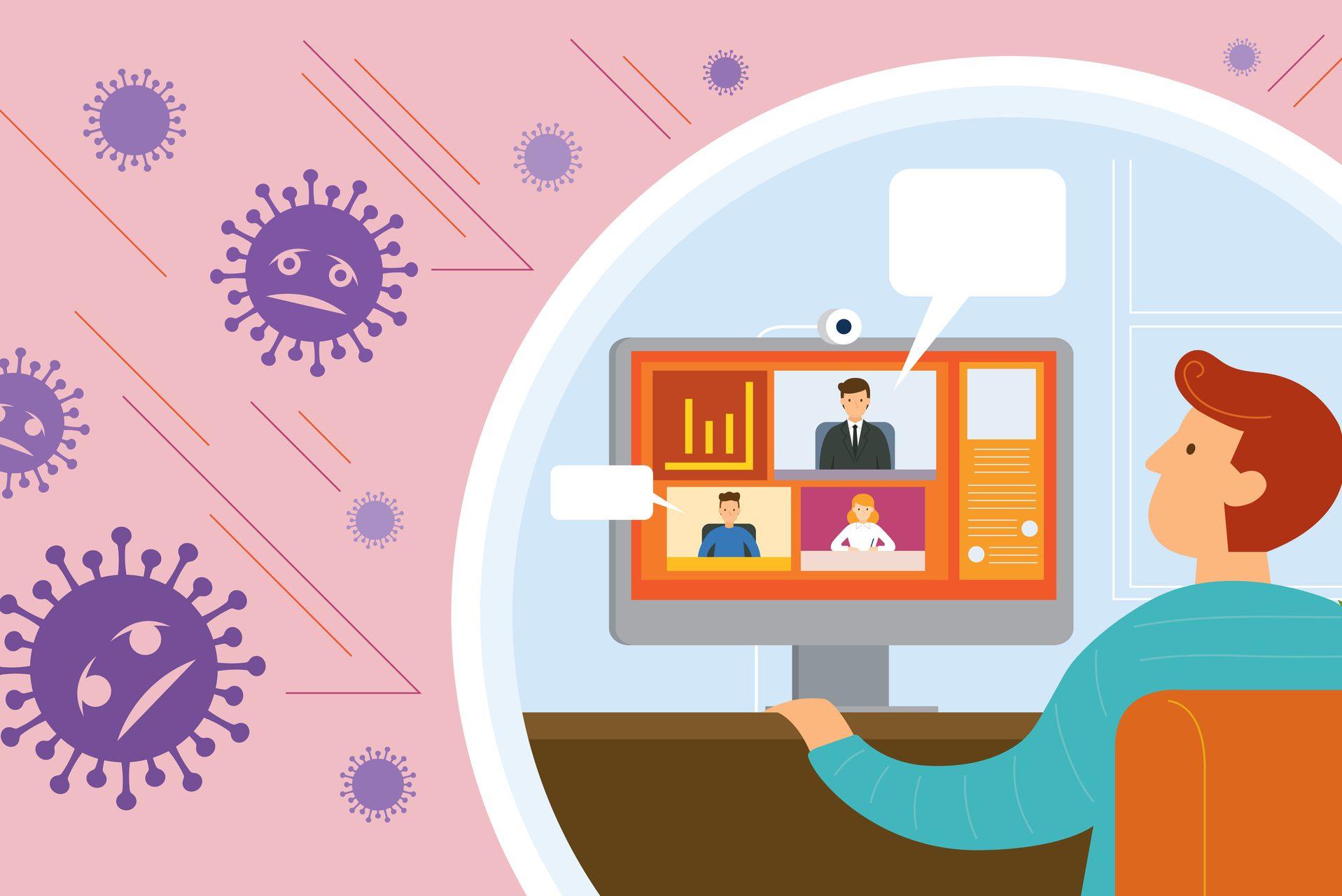 Home Office: a maioria dos profissionais não se sente muito confortável com a nova rotina